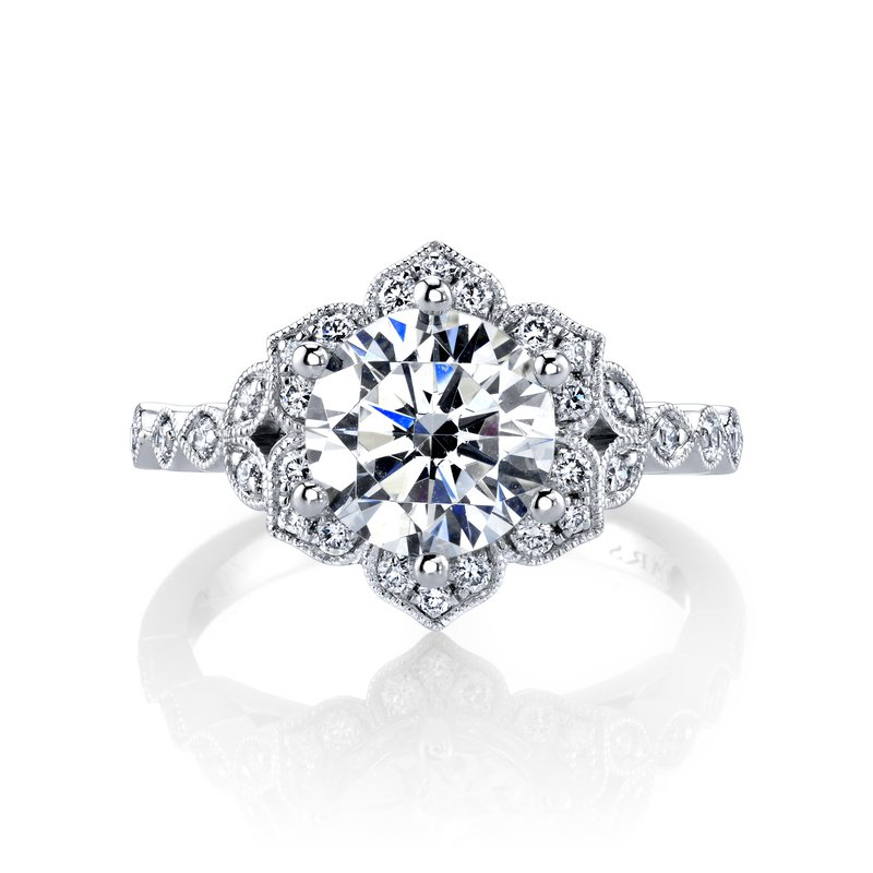 MARS Jewelry MARS 27188 Diamond Engagement Ring, 0.27 ctw