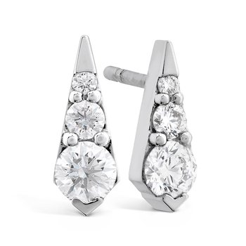 0.4 ctw. Triplicity Drop Stud Earrings
