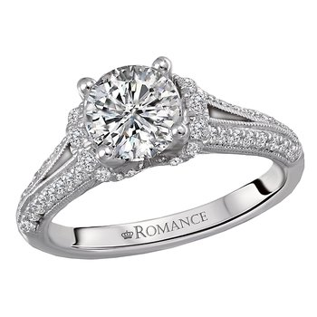Classic Semi Mount Diamond Ring