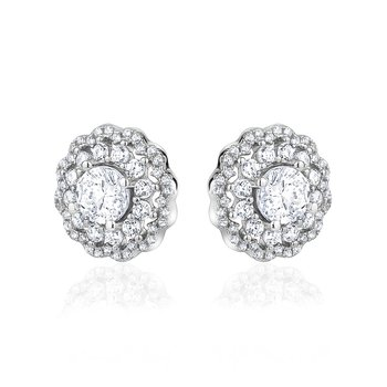 Sparkling Stud Earrings