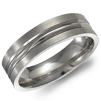 Torque Men's Fashion Ring TI-0018