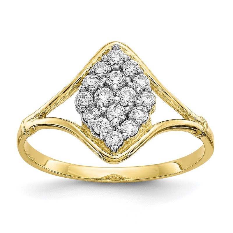 Quality Gold 10k CZ Ring
