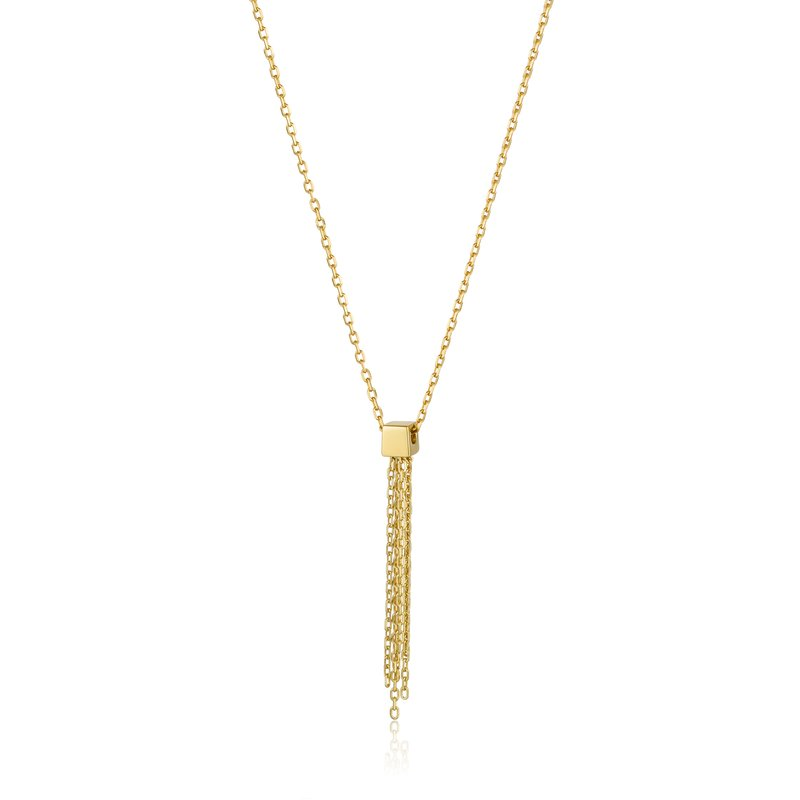 Ania Haie Tassel Drop Necklace