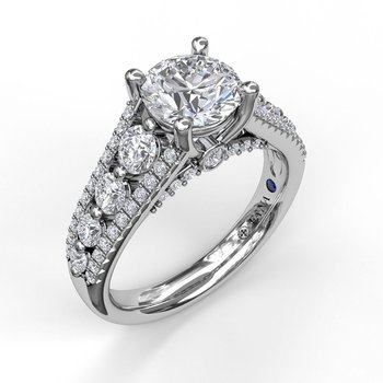 Gorgeous Couture Engagement Ring