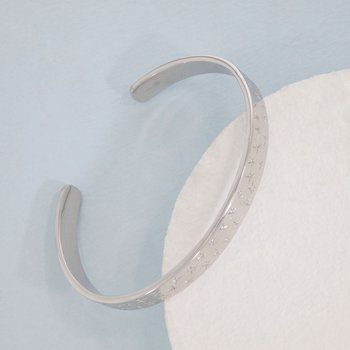 The Sky Is The Limit Sterling Silver Cuff Bracelet