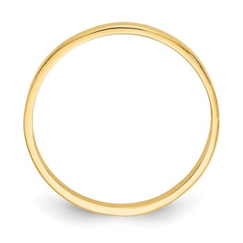 14K High Polished Band Childs Ring