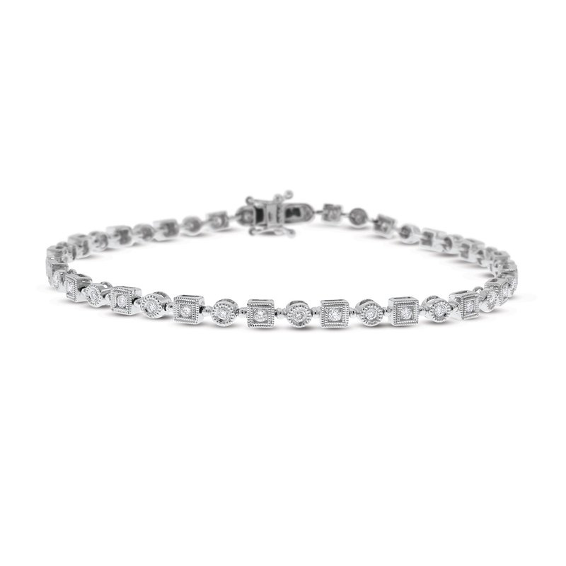 KC Designs 14K Diamond Geometric Bracelet