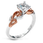 Zeghani ZR1197 ENGAGEMENT RING