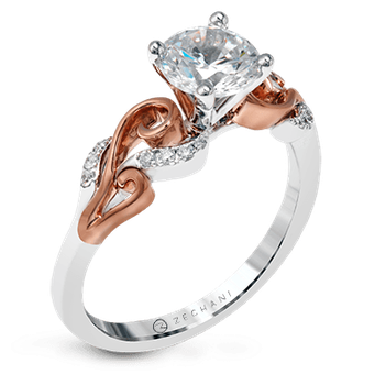 ZR1197 ENGAGEMENT RING
