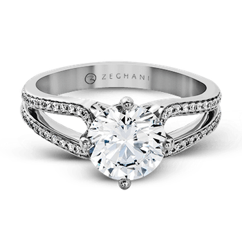 ZR1243 ENGAGEMENT RING