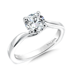 Valina Bridals Solitaire mounting .07 tw., 1 ct. round center.