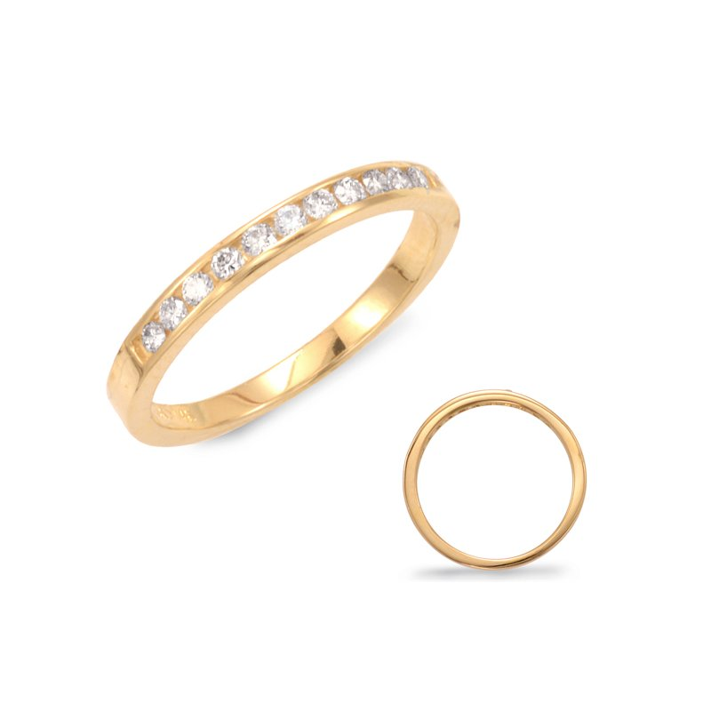 S. Kashi & Sons Bridal Channel Set Diamond Band