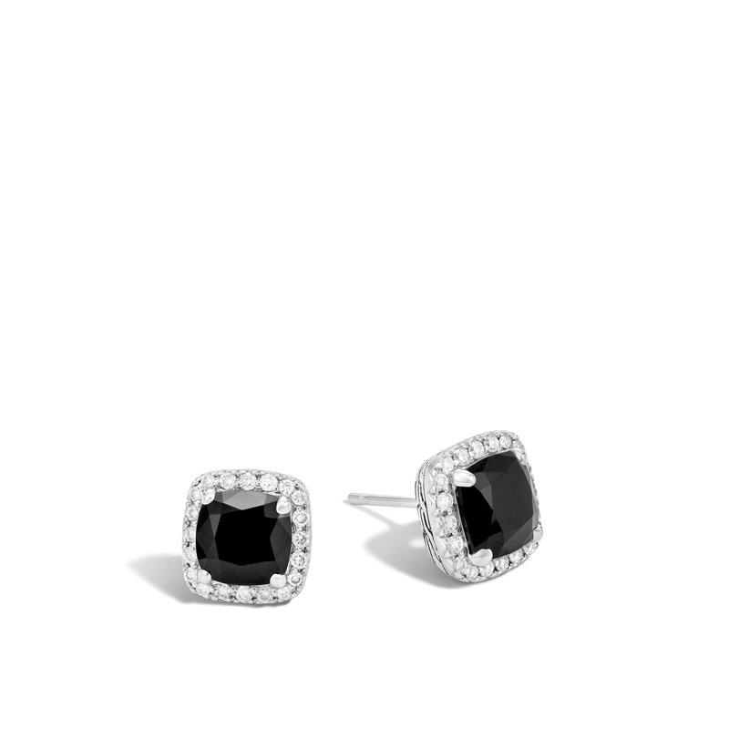 John Hardy Clic Chain Stud Earrings
