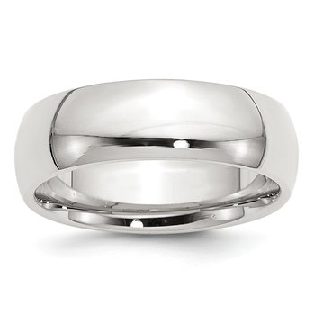 Sterling Silver 7mm Comfort Fit Band
