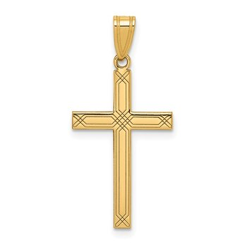 14k Cross Pendant