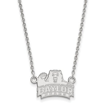 Gold Baylor University NCAA Necklace