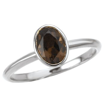 Ladies Stackable Gemstone Ring