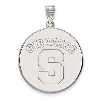 Sterling Silver Syracuse University NCAA Pendant