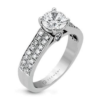 ZR418 ENGAGEMENT RING