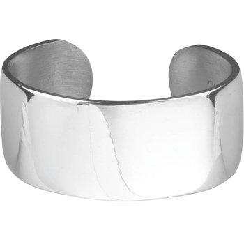 "1"" Plain Pewter Bracelet"