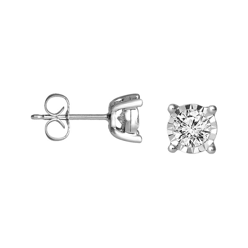 Simmons & Clark Two Hearts Collection Earring