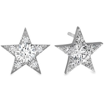 1.3 ctw. Illa Cluster Stud Earrings