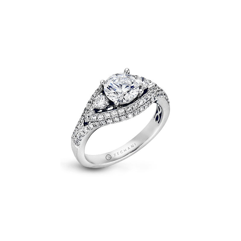 Zeghani ZR452 ENGAGEMENT RING