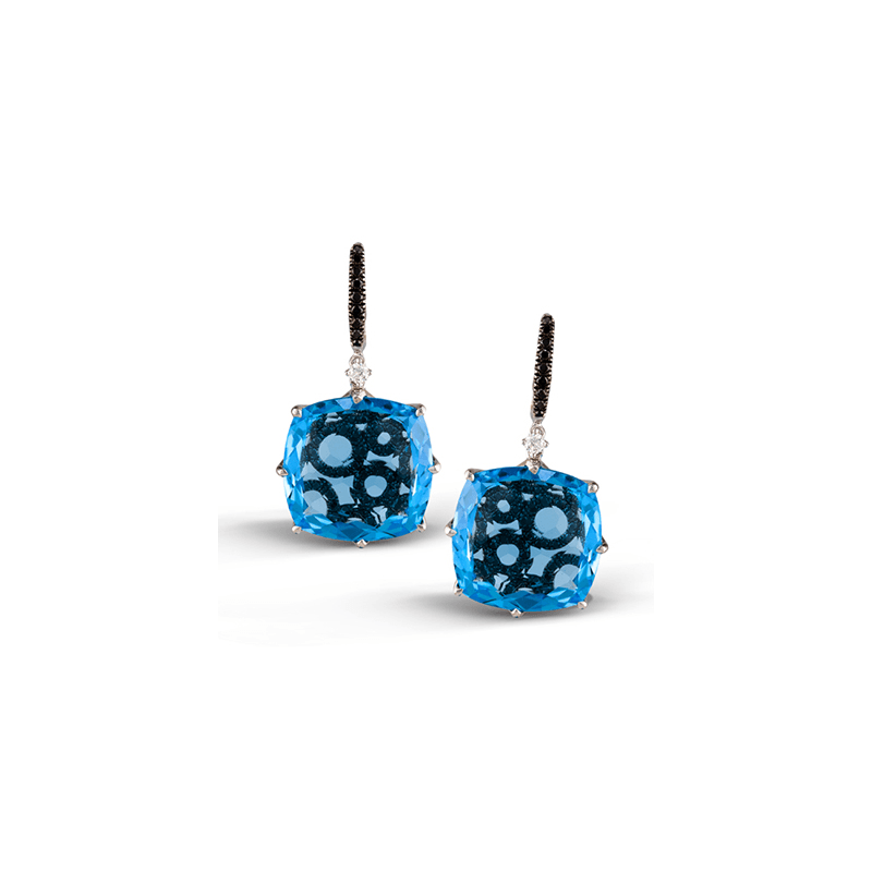 Zeghani ZE313 COLOR EARRING