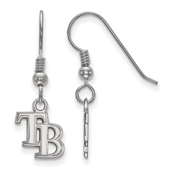 Sterling Silver Tampa Bay Rays MLB Earrings