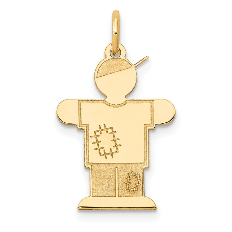 J.F. Kruse Signature Collection 14k Kid Charm