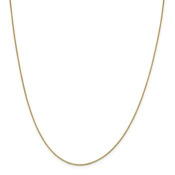 18K Leslie's .90mm Box Chain