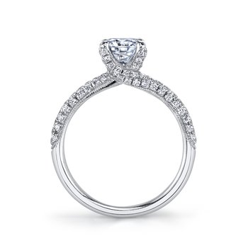 MARS 25272 Diamond Engagement Ring 0.60 Ctw.