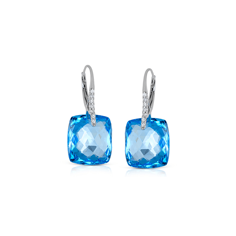 Zeghani ZE536 COLOR EARRING