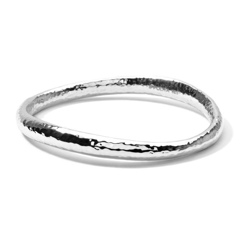 Ippolita Ippolita sterling Classico sculpted bangle. Available at our Halifax store.