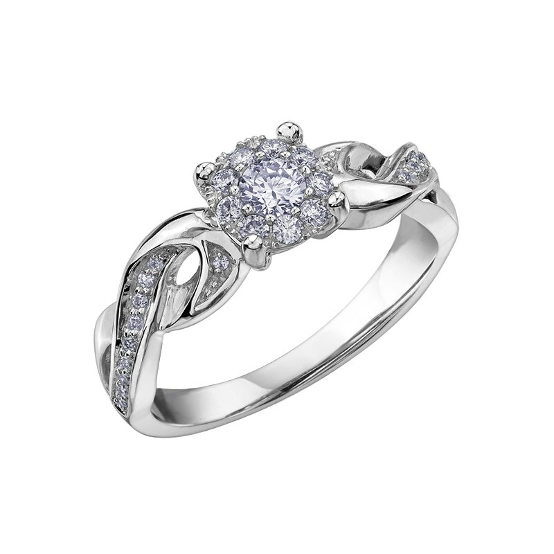 D of D Signature Diamond Ladies Engagement Ring
