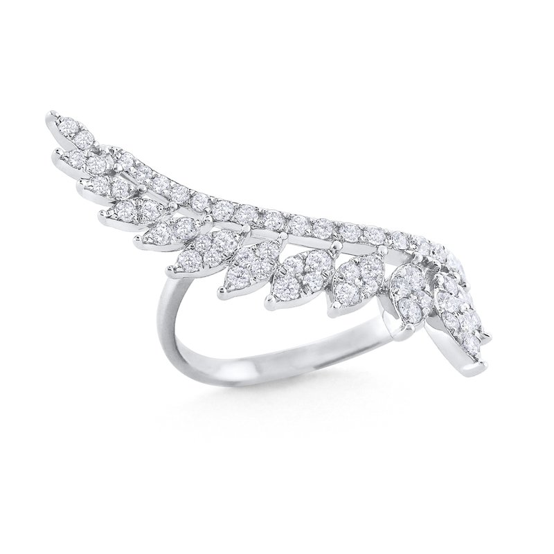 KC Designs 14K Angel Feather Ring