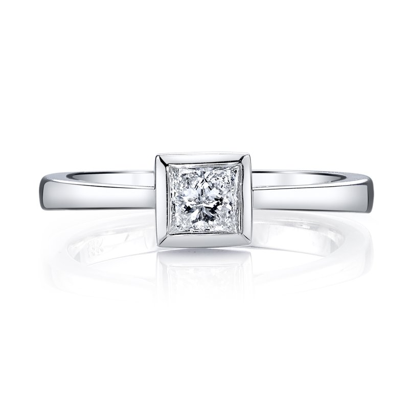 MARS Jewelry MARS 26466 Solitaire Engagement Ring 0.31 Ctw.