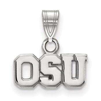 Gold Ohio State University NCAA Pendant