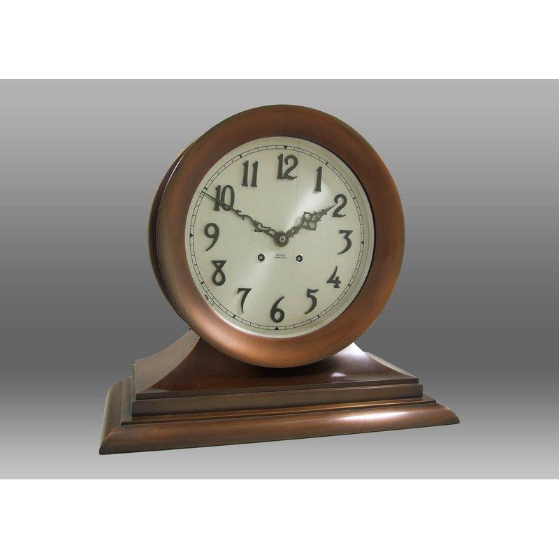 8.5 Patiot Deck Clock Base Black
