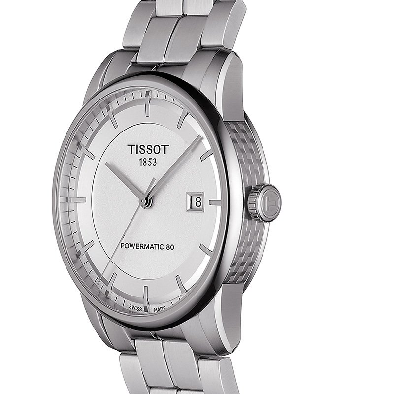 Tissot Luxury Automatic Men's Silver Watch