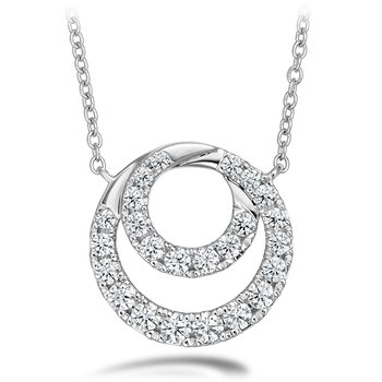 0.57 ctw. Optima Diamond Circle Pendant