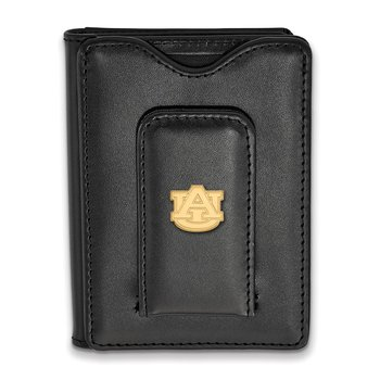 Gold-Plated Sterling Silver Auburn University NCAA Wallet