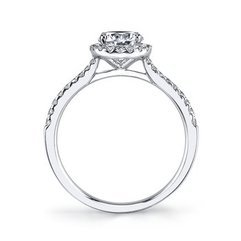25391 Diamond Engagement Ring 0.27 ct tw