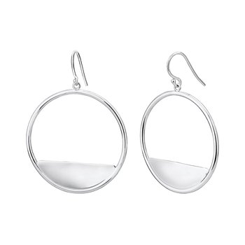 Round Reflection Earrings