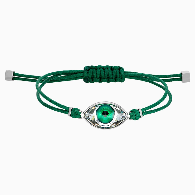 Stainless Steel and green Bracelet