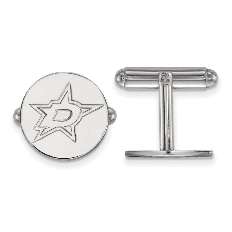 NHL Sterling Silver Dallas Stars NHL Cuff Links