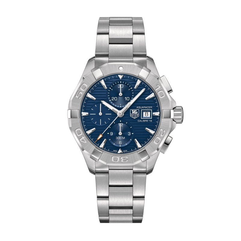 Tag Heuer - USD Aquaracer 300M Steel Bezel Calibre 16 Automatic Chronograph