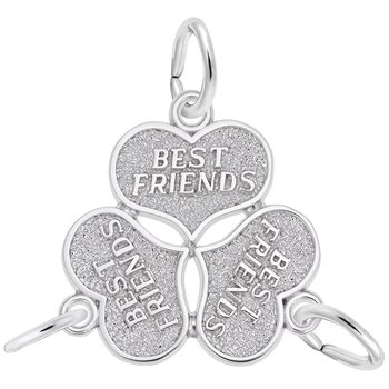 Three Best Friend Charm