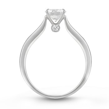The Happy Diamond Solitaire Ring
