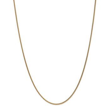 Leslie's 14K 1.65mm Spiga (Wheat) Chain